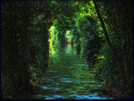 path of fantasy land by 4dpaul