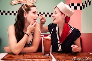 Pin up dinner III by SirK13