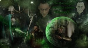 Loki - In the end...you will always kneel! No.1 by LuluDarling