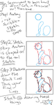 How i draw cats by slingshotmeow