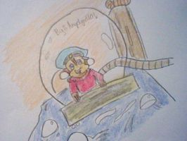 Fievel Mousekewitz from American Tail. by Angelgirl10