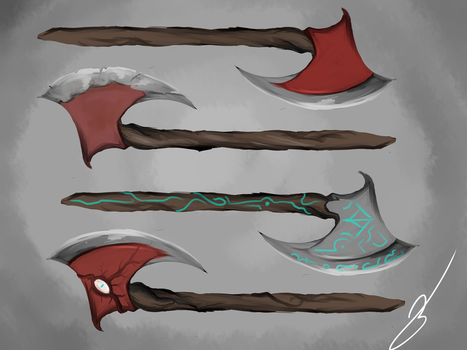 weapon sheet by ShikiCreations