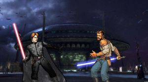 Duel at the Senate Building by oliatoth