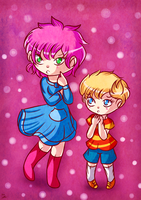 Mother 3 Psychics by Jrynkows