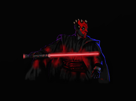 Dark Knight Maul by crazyzombiez