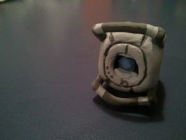 Portal: Tiny Little Wheatley by forte-girl7
