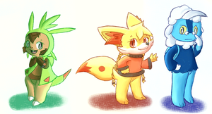 those gen 6's sure are quirky by Pizaru-Chu