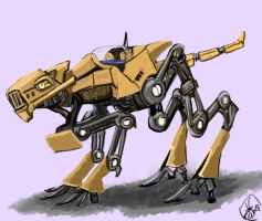 All-terrain robotic vehicle by Crowsrock