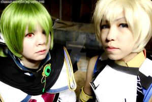 Star Ocean 4 Cosplay - Eyes by letainajup