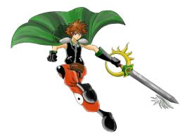 Sora Syaoran Form by JeffreyAcosta
