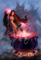 Cauldron Cover by ValerieJB