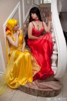 Princess Mars and Venus by Vaishravana