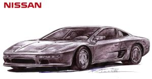 Nissan Mid4 Exotic Supercar by toyonda