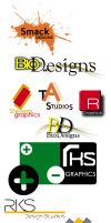 logo package 1 by Bl4ck-and-wh1te