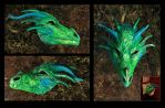 Dragon mask by hontor