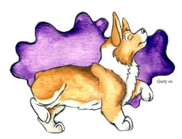 Corgi Color Blob 3 by Ashwin24