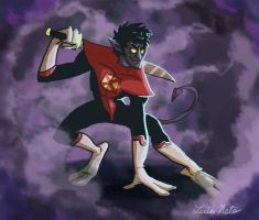Nightcrawler by Spidersaiyan
