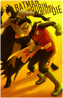 Batman And Robin Will Never Die by ZombieDaisuke