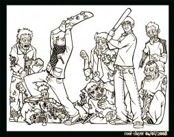 Zombies...of the Dead by cool-slayer