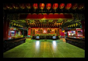 Maokong Temple Interior by WiDoWm4k3r