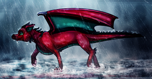 Seeking Shelter by TheDragonInTheCenter