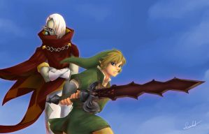 Legend of Zelda: WTF Sword...? by MistressAinley