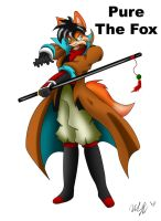 Character Pure the Fox by cicakkia