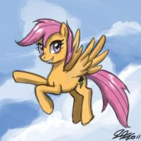 Older Scootaloo by johnjoseco