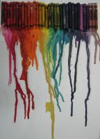 raining crayons!!!! by inlovewithyourshadow