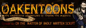 Hobbit: Oakentoon Banner by wolfanita