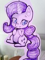 My little chibi: Rarity by Cupikagi