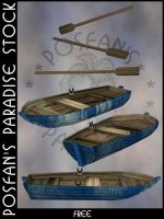 RowBoat 002 by poserfan-stock