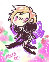URUHA - Butterfly fairies of the Spring garden by Alzheimer13