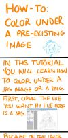 How to Color Under Lineart Tutorial by barakemon