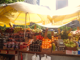 Market of New York by fadingechoes101