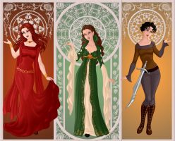 ASOIAF: Beautiful but Cunning by moonprincess22