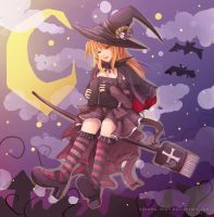 -- Halloween commission: Misa Misa -- by Kurama-chan