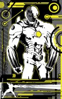 Cyborg 52 Prime by artist Tom Kelly by TomKellyART