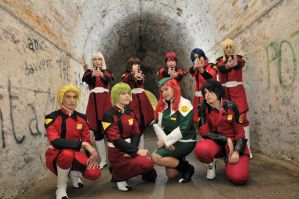 Gundam Seed - Young aces by AtlantisLux