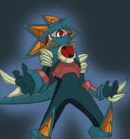 :Megaman-Greiga Fusion: by Light-the-Hedgehog