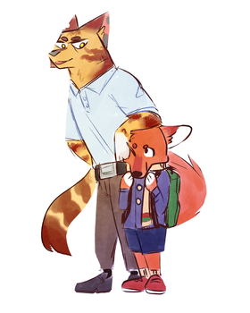 dad cat by dogfood66