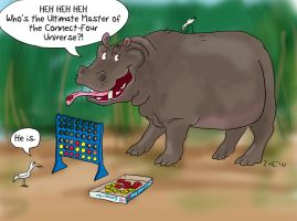 zoe vs tim - connect 4 hippo by inner-etch