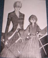Ichigo and Rukia Finished by AsherothTheDestroyer