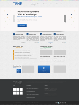 TeneCity - Web Design by Shizoy