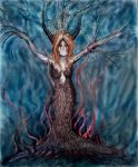 Demon Dryad by Kate-ColourTheory