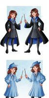 At Hogwarts by HollyBell