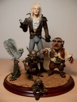 Henson  LABYRINTH Diorama by Skulpturen