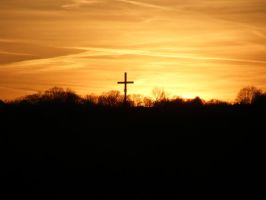 The Cross in the sunset vol. 2 by Wolinpiotr