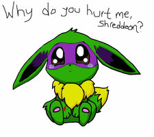 Y did u hurt me? by NinjaTurtleGirl