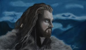 Thorin Oakenshield: Burdens of the Past by ForgottenGold